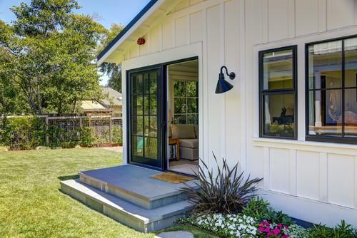 Modern Farm House - Rumah Minimalis Modern Satu Lantai Dengan Sentuhan Gaya Pertanian Modern