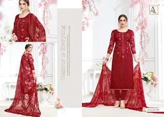 Alok Suits Amber Churidar salwar kameez