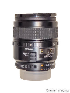 Cramer Imaging's photograph of a Nikon camera lens