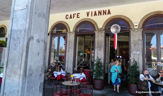 Café Vianna, na Praça da República, Braga, Portugal