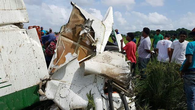 Cae avioneta de fumigación y muere piloto en San Francisco de Macorís