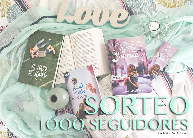"SORTEO EN EL BLOG ""LA NARRADORA - LOVE STORIES"""