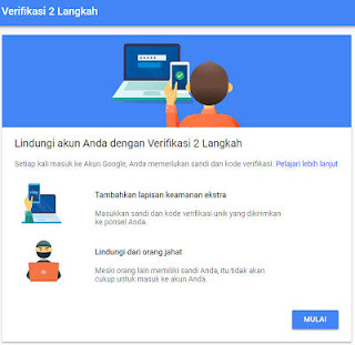 Panduan Lengkap Cara Mengaktifkan Verifikasi 2 Langkah Pada Akun Gmail