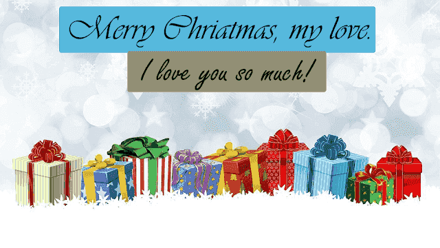 Merry christmas my love wishes