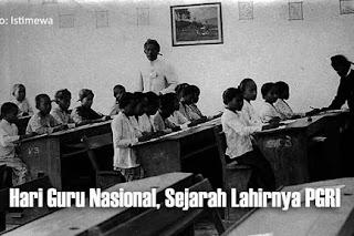 Sejarah Hari Guru