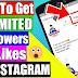 How To Get Unlimited Followers On Instagram (Easy 100% Working Method)