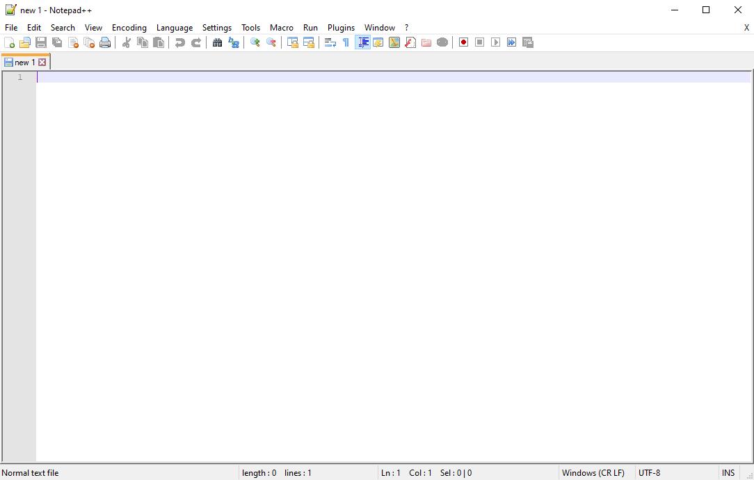 Notepad++ 7.8.3