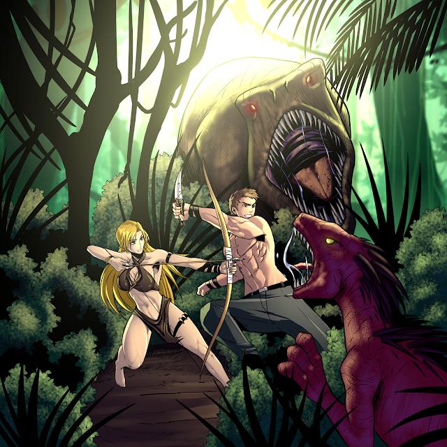 Dino Wars - A Fantasy Harem LitRPG Featured Image