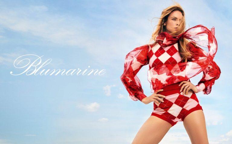 Hannah Ferguson stars in Blumarine fall-winter 2019 campaign