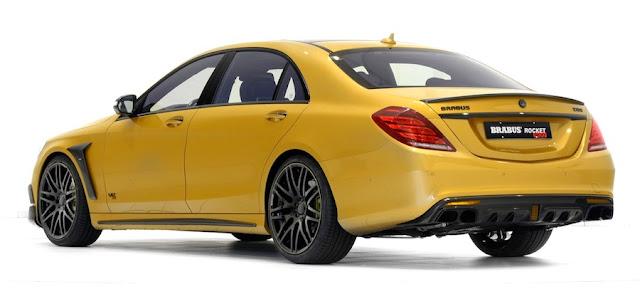 価格は約5400万円!?ゴールドカラーで900馬力のブラバス仕様のベンツSクラス「ROCKET 900」が販売中。