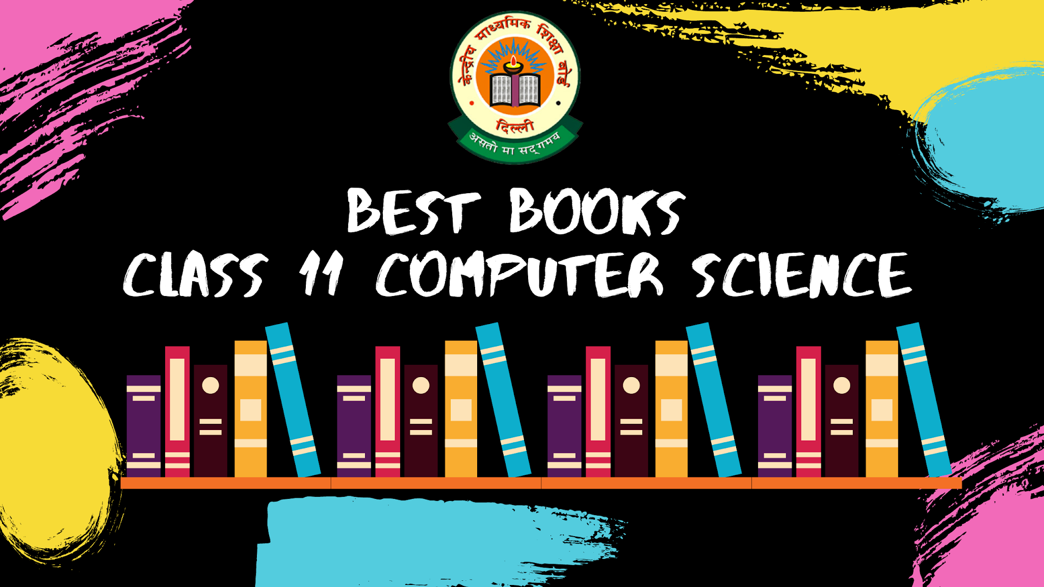 Best Books for Class 11 Computer Science (2020-21)