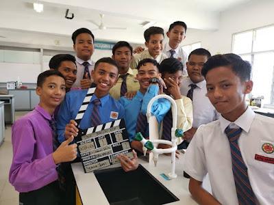 Shooting Dengan Anak Sulong, Bakal Aliran Sains di Jerlun