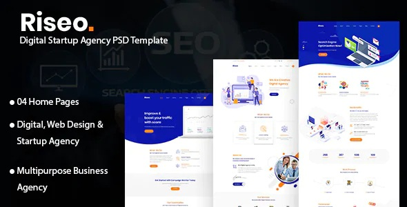 Best Digital Startup Agency Template
