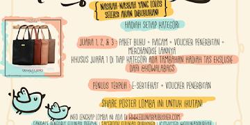 """Lomba Menulis Nasional Cerpen dan Puisi Bertema """"Unexpected Love"""""""