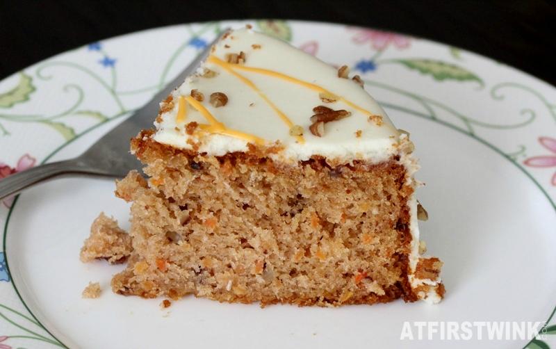 Aldi carrot cake slice