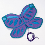 Step 4 - Blue Butterfly Costume