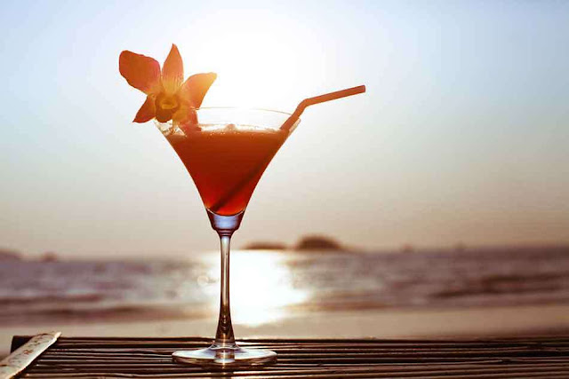 Drinks refrescantes para la playa