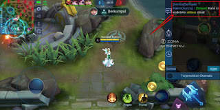 How to create a color coded chat system in Mobile Legends game