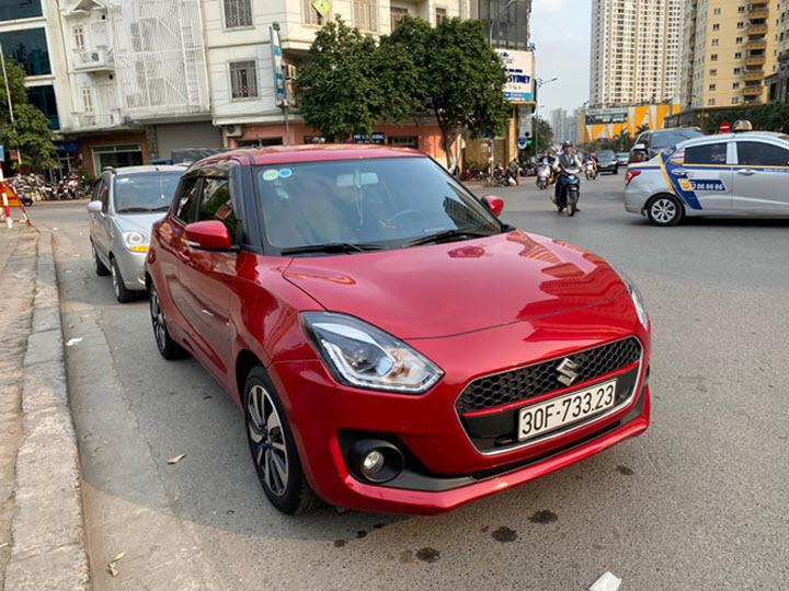 Cùng phân khúc nhưng Honda Jazz mất giá hơn Suzuki Swift tại Việt Nam