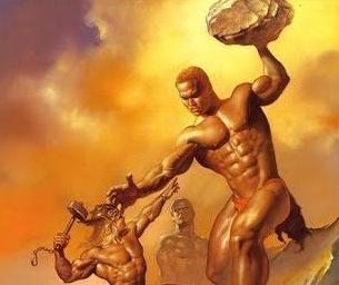 Raksasa Hrungnir dari Legenda Norse