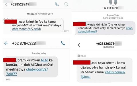 sms spam chat-v dan cara mengatasinya