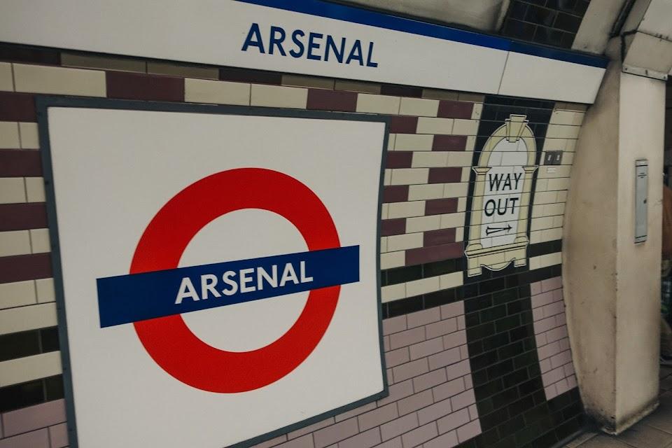 アーセナル駅(Arsenal station)