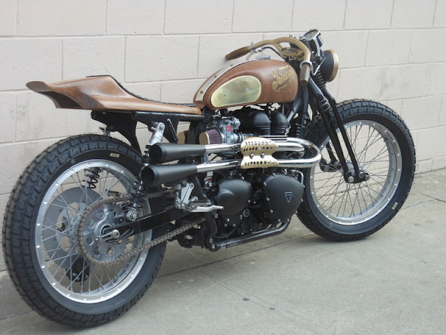 Triumph By Garage Company Hell Kustom
