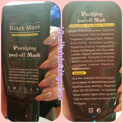Shills Natural Science; Deep Cleansing Black Mask
