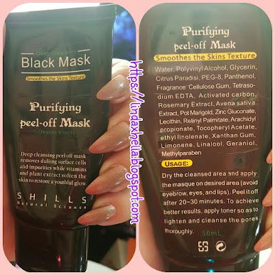 Shills Natural Science; Deep Cleansing Black Mask