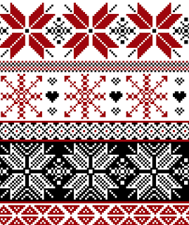 Winter Sweater Fair Isle Pattern