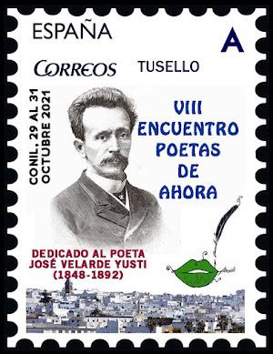 Sello dedicado al poeta José Velarde