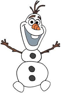 Olaf contento olaf para imprimir