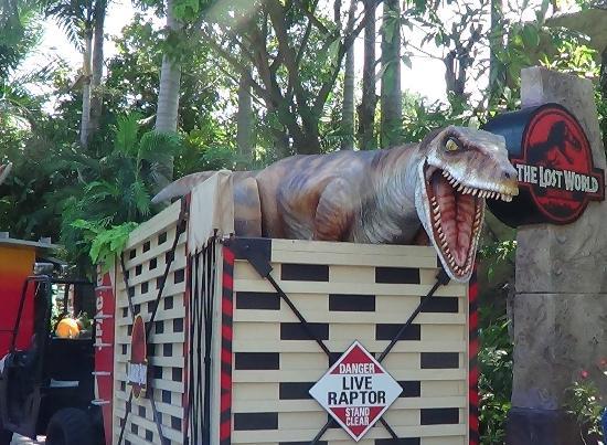 Dinosaurs at Universal Studios Singapore