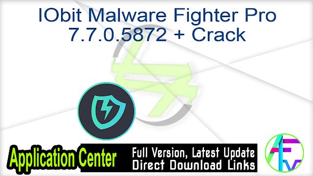 IObit Malware Fighter Pro 7.7.0.5872 + Crack