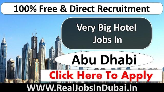 Royal Catering Hotel Jobs In Abu Dhabi  UAE 2021
