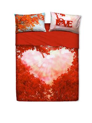 Love everywhere de Bassetti Imagine. Juego de sábanas