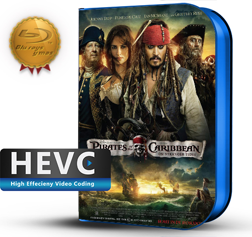 Pirates of the Caribbean: On Stranger Tides (2011) 1080P HEVC-8Bits BDRip Latino/Ingles(Subt.Esp)(Aventura)