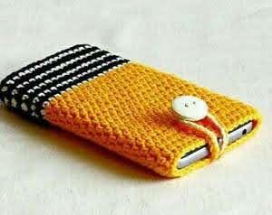CroChet Smartphone cover