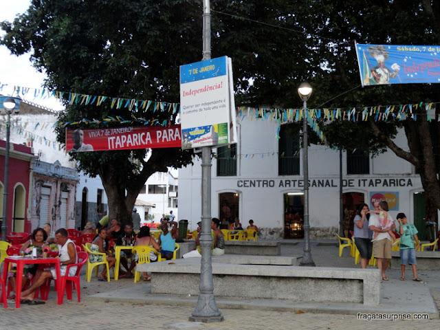 Largo Tenente Botas, Itaparica, Bahia