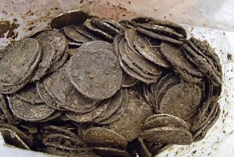 Largest Anglo-Saxon coin hoard found in UK goes on display at British Museum