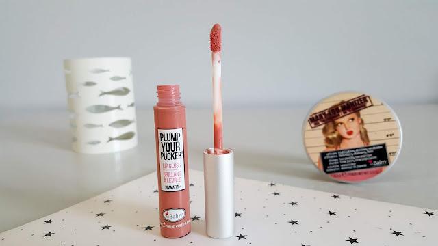 The Balm Plump Your Pucker Lip Gloss | Dramatize