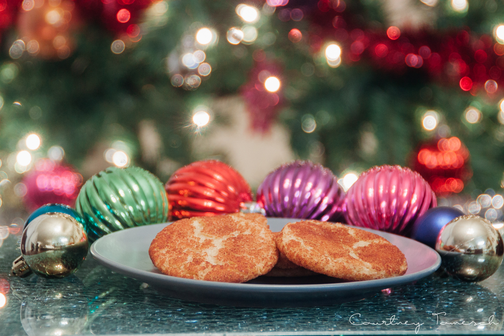 Courtney Tomesch Vegan Holiday Treats Snickerdoodles
