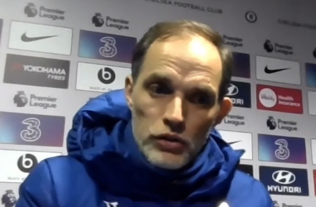 (Video): Thomas Tuchel suggests Chelsea formation change to confuse returning Ramos