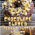 Chocolate Glazed Peanut Butter Donuts