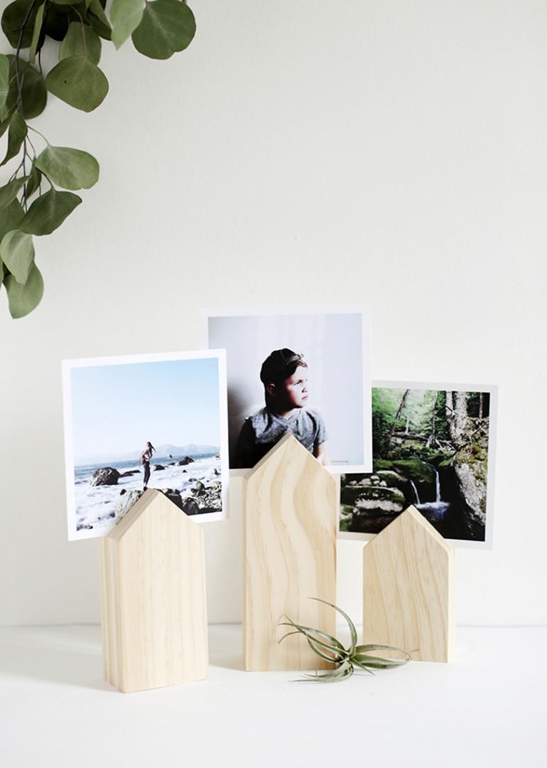 portafotos madera DIY