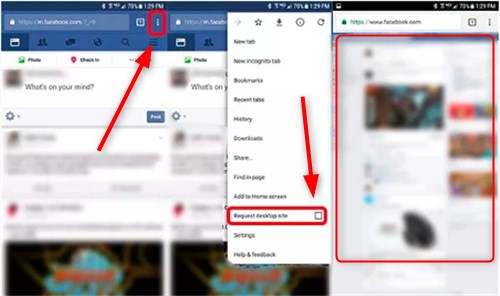 How To Change Facebook Mobile To Desktop