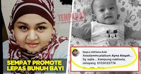Thumbnail image for Lepas Bunuh Adam Rayqal, Pengasuh Promote Untuk Jaga Baby Lagi