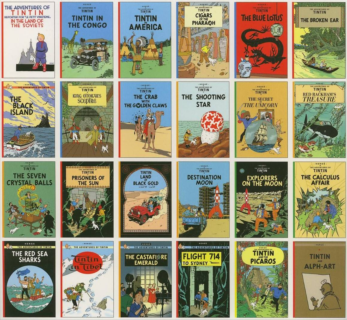 Mediafire tintin all comics in pdf free download for collection.