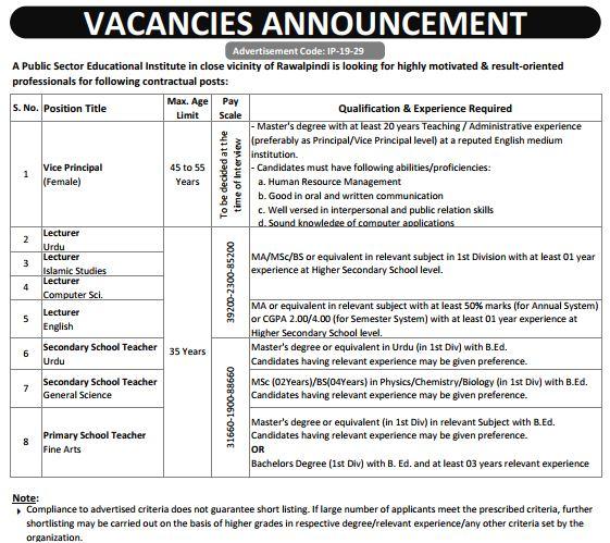 HR 1384 Latest Jobs 2019 www.hr1384.com.pk Apply Online Career Opportunities