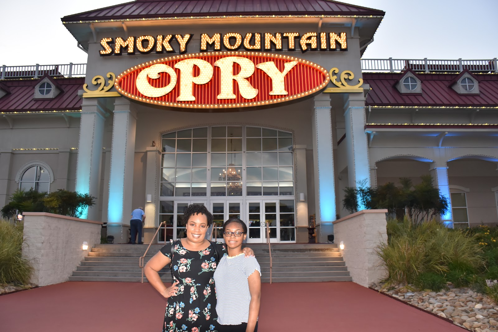 Our Night Out to See the Exciting Variety Show: Smoky Mountain Opry